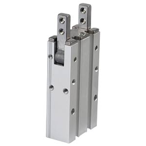 Winkelgreifer, 180°, 58x15x30 mm SMC PNEUMATIK MHY2-10D