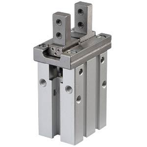 Parallel-Greifer, 2-Finger, Hub 6 mm, 67,3x23,6x38 mm SMC PNEUMATIK MHZ2-16D
