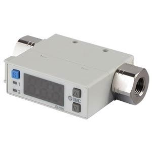 Durchflussschalter 0,2…10 l/min, Ausgang: PNP / 4...20 mA SMC PNEUMATIK