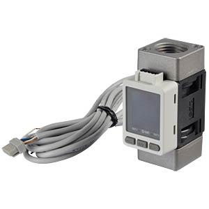 Flow switch 10 - 1000 l/min, output: 1 - 5 V SMC PNEUMATIK