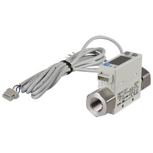 Flow switch 2 - 200 l/min, output: 4 - 20 mA SMC PNEUMATIK