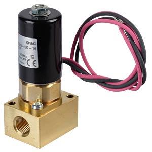 Magnetventil Flansch, NC, 2/2-Wege, 24 VDC, 100 l/min SMC PNEUMATIK