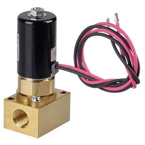 Magnetventil Flansch, NC, 2/2-Wege, 12 VDC, 100 l/min SMC PNEUMATIK