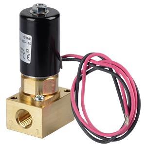 Magnetventil Flansch, NC, 2/2-Wege, 12 VDC, 75 l/min SMC PNEUMATIK
