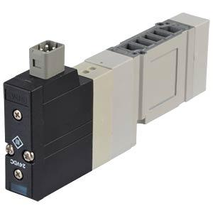 Elektromagnetventil 5/2, 24 VDC D-Sub-25, mono SMC PNEUMATIK