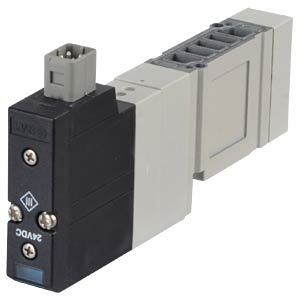 Solenoid valve 5/2, 24VDC D-Sub-25, bi SMC PNEUMATIK