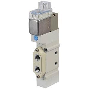 Elektromagnetventil 5/2, 24 VDC 200 l/min, mono SMC PNEUMATIK
