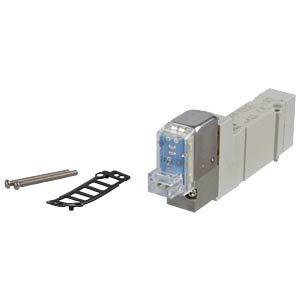Elektromagnetventil 5/2, 24 VDC 250 l/min, mono SMC PNEUMATIK