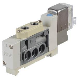 Elektromagnetventil 5/2, 24 VDC 150 l/min, mono SMC PNEUMATIK