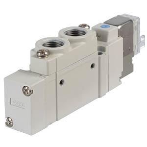 Solenoid valve 5/2, 24 VDC 450 l/min, mono SMC PNEUMATIK