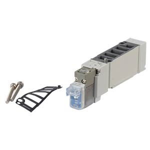 Solenoid valve 5/2, 24 VDC 650 l/min, mono SMC PNEUMATIK