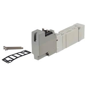 Elektromagnetventil 5/2, 24 VDC 650 l/min, mono SMC PNEUMATIK