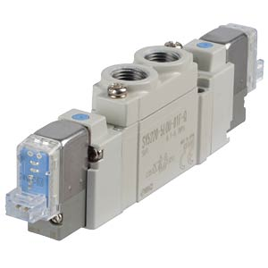 Solenoid valve 5/2, 24VDC 450l/min, bi SMC PNEUMATIK