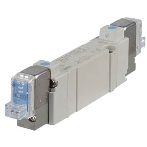 Elektromagnetventil 5/2, 24 VDC 650 l/min, bi SMC PNEUMATIK