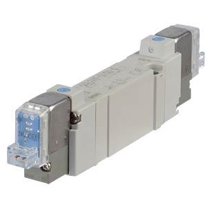 Solenoid valve 5/2, 24VDC 650l/min, bi SMC PNEUMATIK
