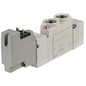 Elektromagnetventil 5/2, 24 VDC 800 l/min, mono SMC PNEUMATIK