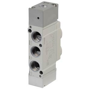 Pneumatically operated 5/2 valve G1/8, mono SMC PNEUMATIK