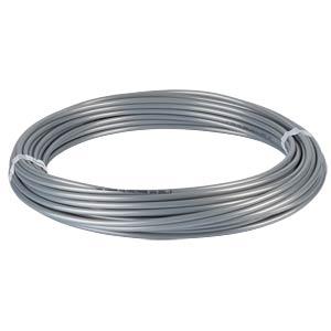 PU tube 6 mm, 20 m roll, silver SMC PNEUMATIK