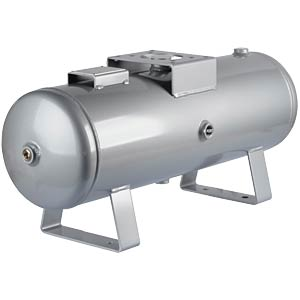 Compressed air tank, 20 l, compatible with VBA20, Rc3/4 (IN)/Rc1 SMC PNEUMATIK