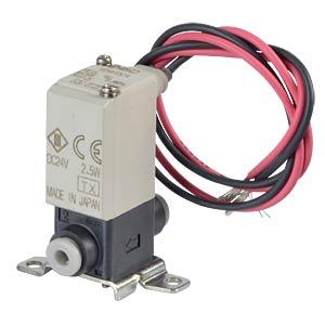 Solenoid valve 2/2 for water, NC, 24 VDC, plastic SMC PNEUMATIK