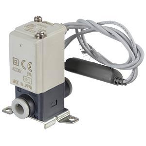 Elektromagnetventil 2/2 für Wasser, NC, 230 VAC, Kunststoff SMC PNEUMATIK