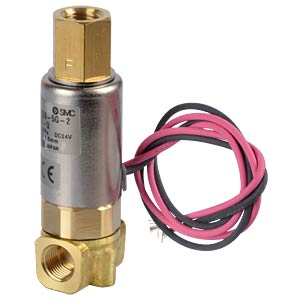 Elektromagnetventil 3/2, 24 VDC, G1/8, ISO-Class-B SMC PNEUMATIK