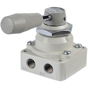 Manual valve 4/3, G1/4, function: open SMC PNEUMATIK