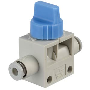 Hand shut-off valve 3/2, Ø 4 mm SMC PNEUMATIK