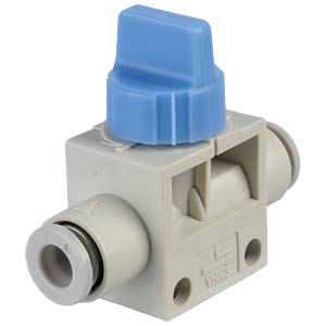 Hand shut-off valve 3/2, Ø 6 mm SMC PNEUMATIK