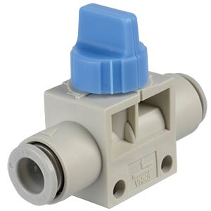 Hand shut-off valve 3/2, Ø 8 mm SMC PNEUMATIK