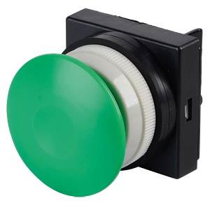 Betätigungsaufsatz 5/2, Druckknopf, pilzförmig, grün SMC PNEUMATIK