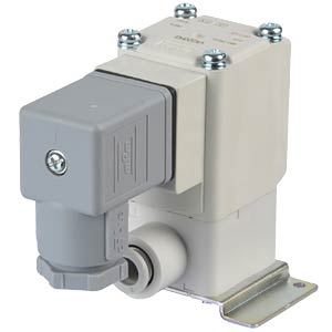 Solenoid valve 2/2 for air, NC, 24 VDC, ISO Class B SMC PNEUMATIK