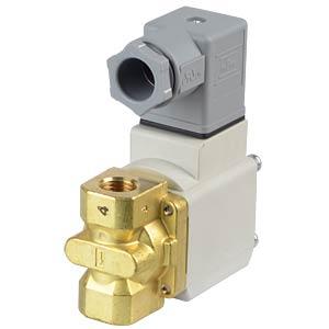 Solenoid valve 2/2 for oil, NC, 24 VDC, G1/4, ISO Class B SMC PNEUMATIK