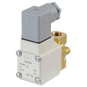 Elektromagnetventil 2/2 für Öl, NC, 24 VDC, G1/4, ISO-Class-B SMC PNEUMATIK