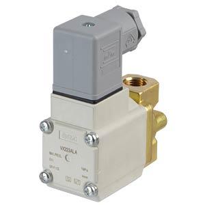 Elektromagnetventil 2/2 für Öl, NC, 230 VAC, G1/4, ISO-Class-B SMC PNEUMATIK