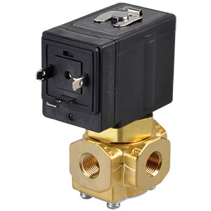 Elektromagnetventil 3/2, 230 VAC, G1/8, ISO-Class-B SMC PNEUMATIK