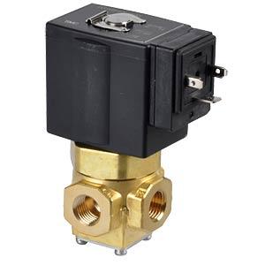 Elektromagnetventil 3/2, 230 VAC, G1/4, ISO-Class-B SMC PNEUMATIK