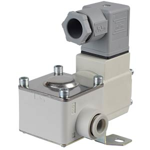 Process valve 2/2 for air, NC, 24 VDC, plastic SMC PNEUMATIK