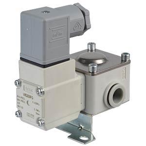 Prozessventil 2/2 für Luft, NC, 24 VDC, Kunststoff SMC PNEUMATIK