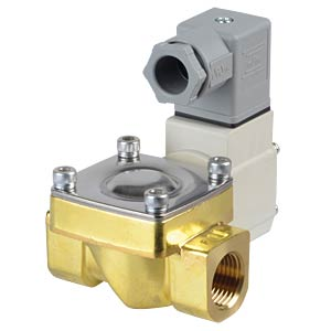 Process valve 2/2 for air/water, NC, 230 VAC, brass, G1/2 SMC PNEUMATIK
