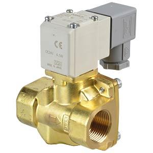 Prozessventil 2/2 für Luft/Wasser, NC, 24 VDC, Messing, G3/4 SMC PNEUMATIK