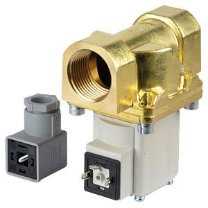 Process valve 2/2 for air/water, NC, 230 VAC, brass, G1 SMC PNEUMATIK