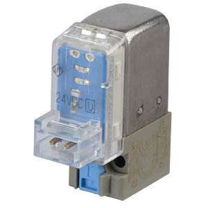 Solenoid valve 3/2, for compressed air, 24 VDC, 8.4 l/min, M5 SMC PNEUMATIK