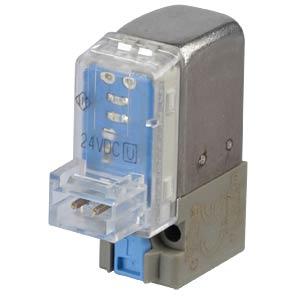 Elektromagnetventil 3/2, für Druckluft, 24 VDC, 8,4 l/min, M5 SMC PNEUMATIK