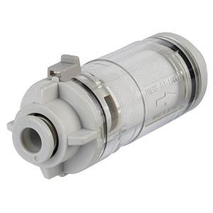 Zubehör, Filter, Anschluss-Ø 6 mm, 120 l/min SMC PNEUMATIK