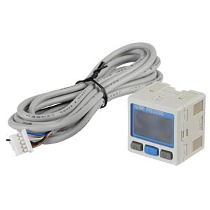 Pressure switch, vacuum pressure -100 - 100 kPa, 1x PNP, 1x 4 - SMC PNEUMATIK