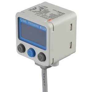 Pressure switch, vacuum pressure -100 - 100 kPa, 2x PNP(NPN) SMC PNEUMATIK