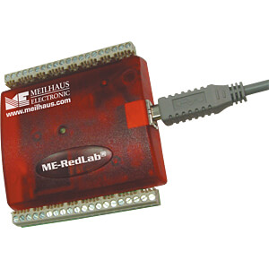 USB-Messlabor RedLab 1208FS-Plus, 12-Bit, USB MEILHAUS REDLAB 1208FS-PLUS