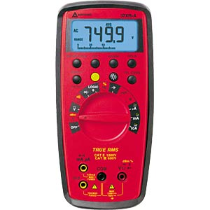 Digital-Multimeter, 17mm Display, 10.000 Digits AMPROBE 3454698