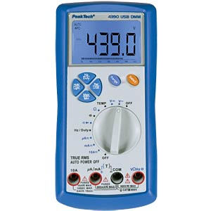 Digital multimeter, 3 5/6 digits PEAKTECH P 4390